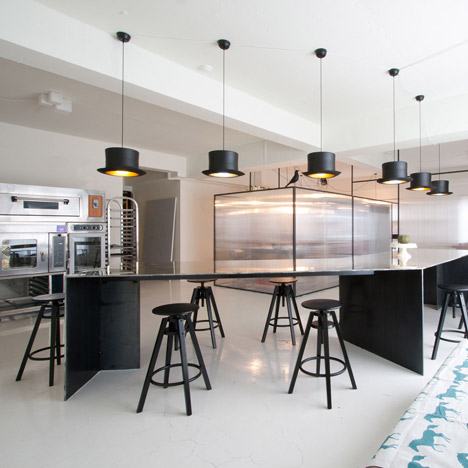 Teaching Kitchen Design initial cooking school precedents - amelia baxter interior architect